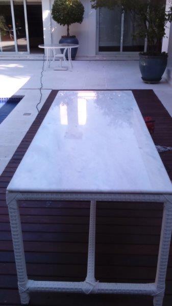 Cristalização de mármore