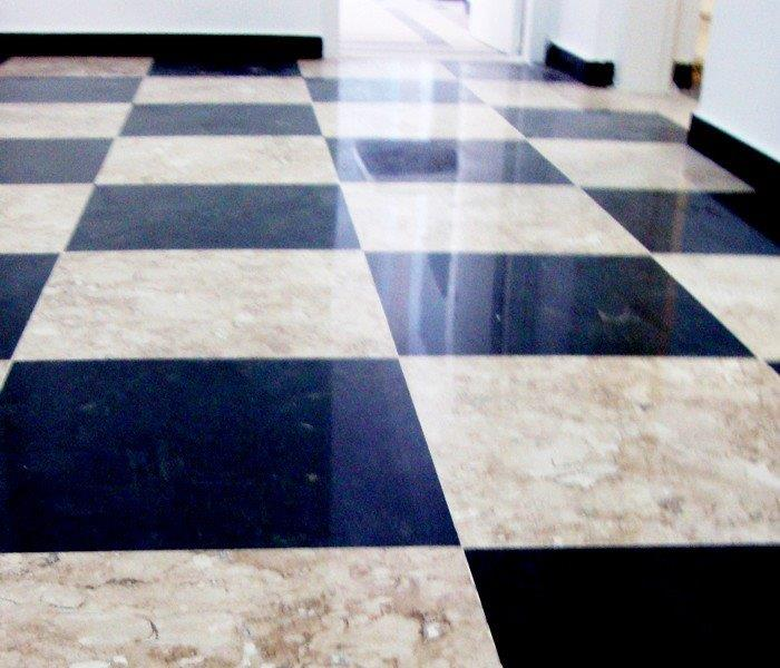 Empresa de polimento de mármore