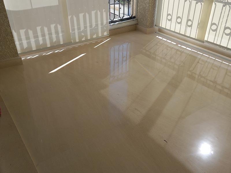 Limpeza de limestone