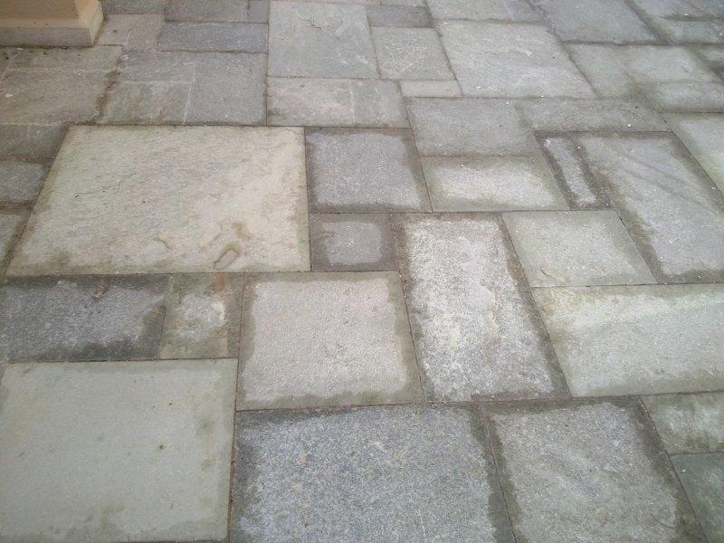 Tratamento em pisos pedras