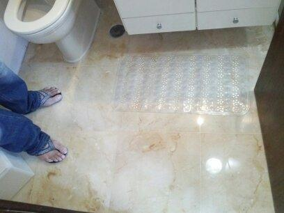 Limpeza de mármore