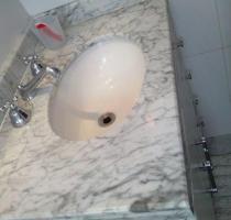Serviço de polimento de mármore